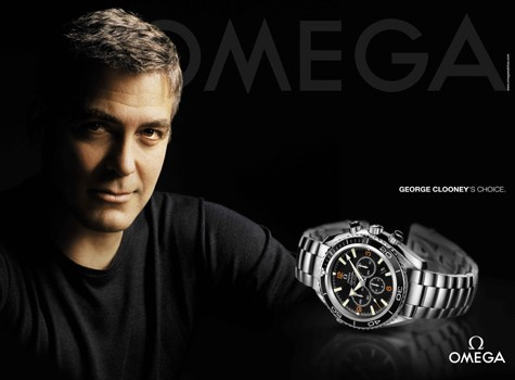 George Clooney signe avec Omega