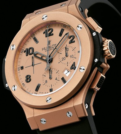 Big Bang Gold Mat d'Hublot : une nouvelle couleur or