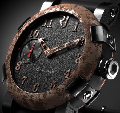« Titanic-DNA » de Romain Jérôme : une montre qui intègre de l'acier du Titanic
