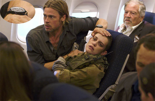 World War Z, Brad Pitt, DR