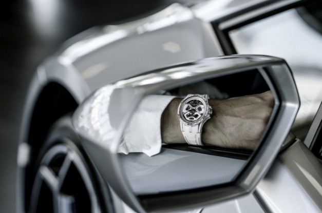 Roger Dubuis Excalibur Spider Huracan : blancheur froide