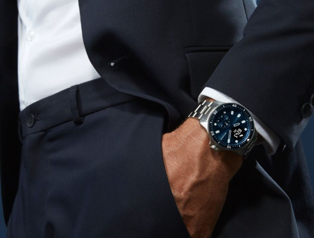 """Withings ScanWatch Horizon : un design """"diver"""" pour une montre """"santé"""""""