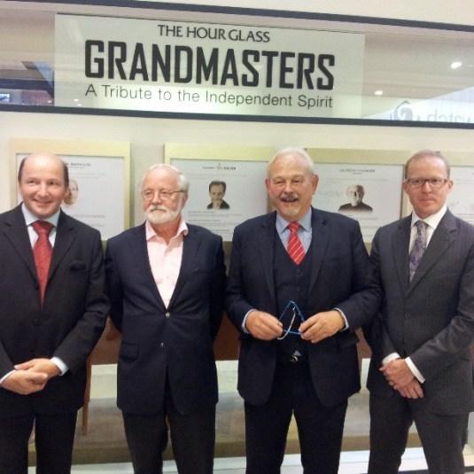 Singapour : The Hour Glass invite quatre des plus grands horlogers indépendants