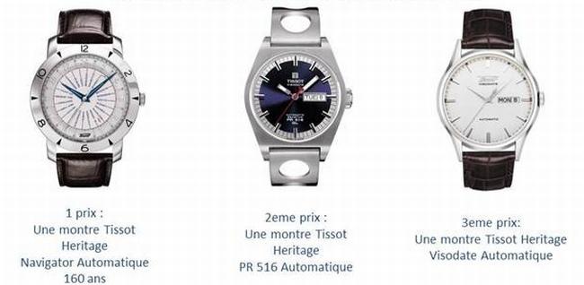 Tissot : gagner une montre de la collection Heritage pour le 160ème anniversaire de la marque