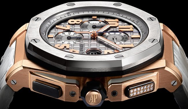 Audemars Piguet Royal Oak Offshore LeBron James : chrono bi-matière chic et sportif