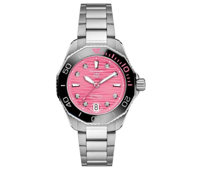 The Pink Dial Project : des montres contre le cancer du sein