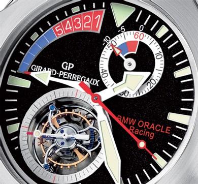 Laureato Régate de Girard-Perregaux : tourbillon chronographe avec compte à rebours