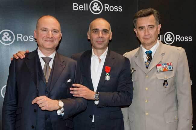 Bell & Ross : présentation de sa ligne Vintage Sport Heritage aux Invalides