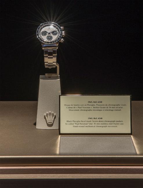 De Daytona au cosmograph daytona : les premières photos de l'exposition Rolex au Bon Marché