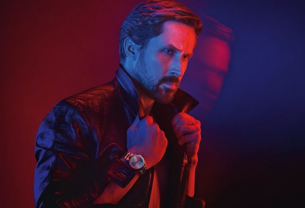 Ryan Gosling pour TAG Heuer copyright Pari Ducovic