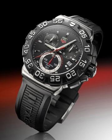 La nouvelle TAG Heuer Formula 1… la montre portée par Fernando Alonso cette saison
