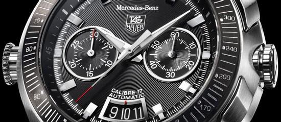 TAG Heuer SLR Mercedes-Benz : une nouvelle version encore plus puissante