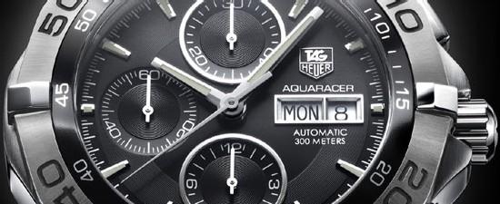 Aquaracer Chronograph Calibre 16 Day-Date : plus grande, plus audacieuse et dotée de nouvelles fonctions