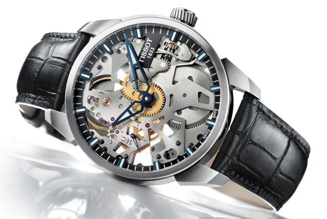 Tissot T-Complication Squelette : le temps en mouvement…