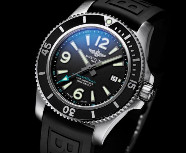 Breitling : une Superocean pour l'association Premiers de cordée