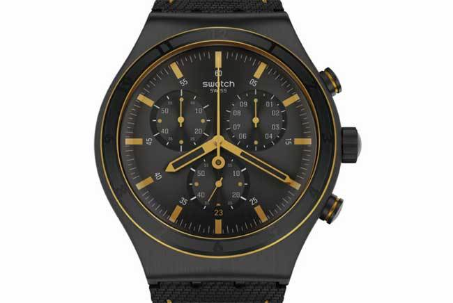 Swatch Big New Irony Chrono : la taille aussi, a son importance…