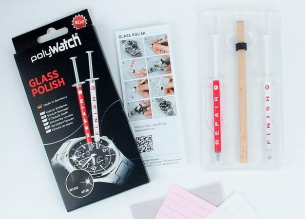Polywatch : trois produits anti-rayures pour vos montres