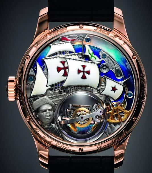 Zenith Academy Christophe Colomb Hurricane Grand Voyage : montre de collectionneur