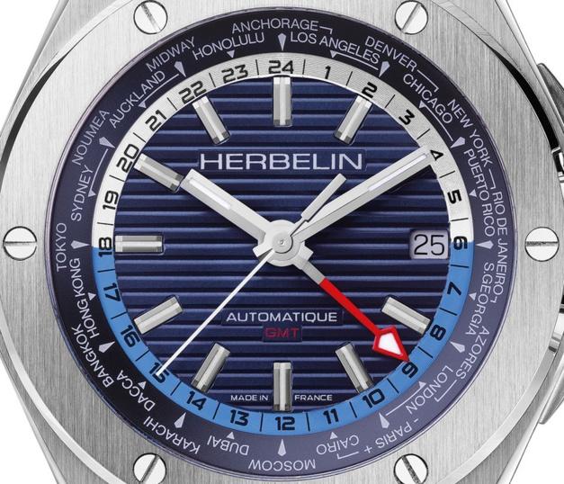 Herbelin Cap Camarat automatique GMT : embarquement immédiat