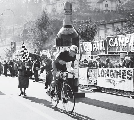 Longines chronomètre le Grand Prix Davide Campari, 1956.