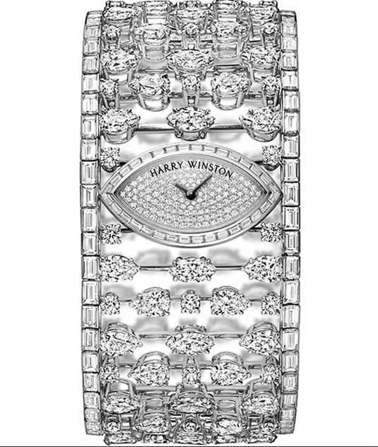 Mrs. Winston High Jewelry Timepiece