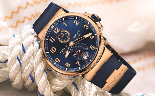 Ulysse Nardin Marine Chronometer Manufacture, or rose