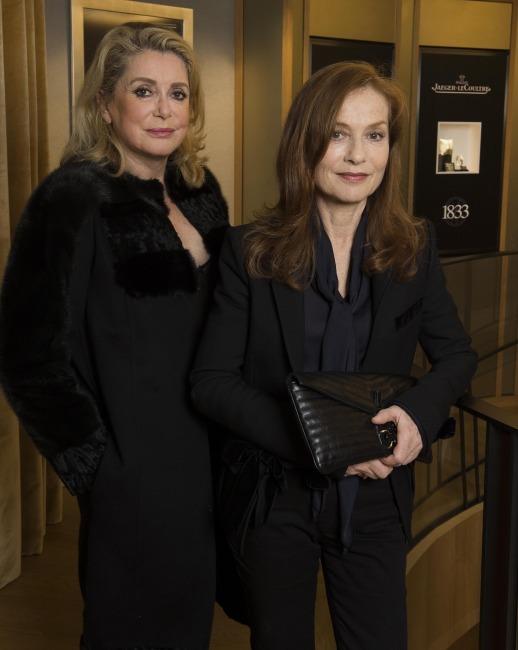 Catherine Deneuve et Isabelle Huppert