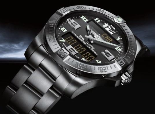Breitling Aerospace Evo : nouveau look pour ce chronographe électronique multifonction