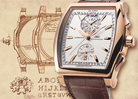 IWC Da Vinci Chronographe : la manufacture de Schaffhouse réinvente le chronographe