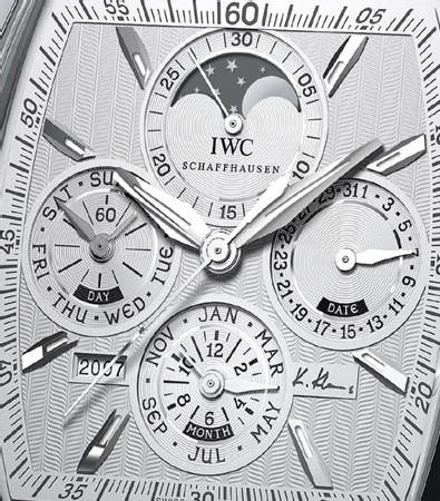 Da Vinci IWC Calendrier Perpétuel Special Edition Kurt Klaus