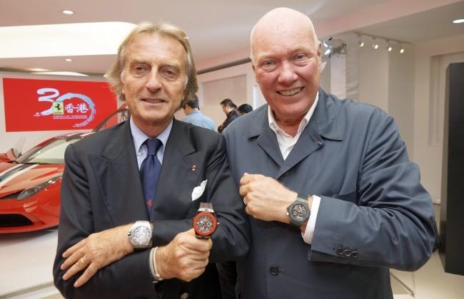 Luca di Montezemolo et Jean Claude Biver