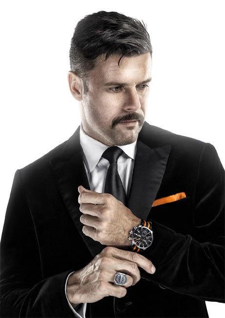 Adam Garone et sa montre Maurice Lacroix Pontos S