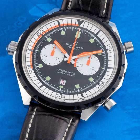 Breitling : expo de montres vintage chez Forges à Paris