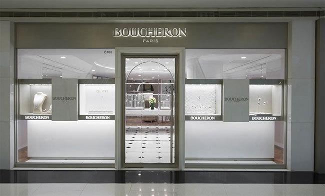Boucheron : deux boutiques à Shanghai