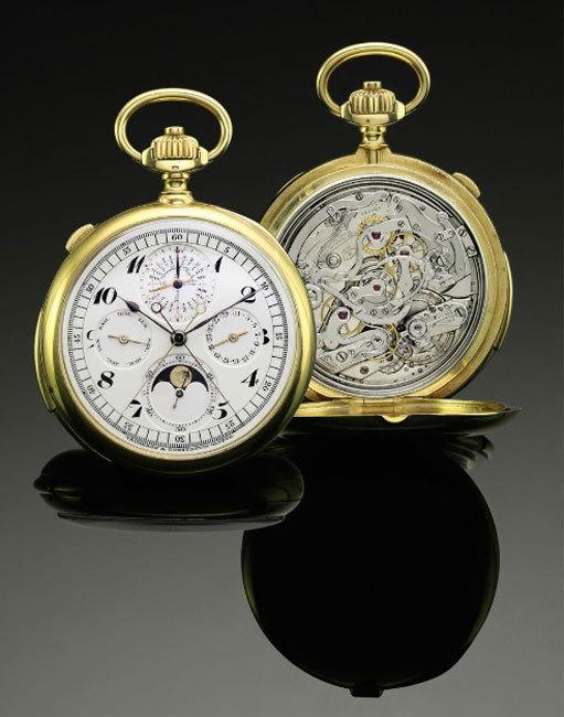 Sotheby's : 825.000 euros pour la montre de poche Breguet de Sir Richard Wallace