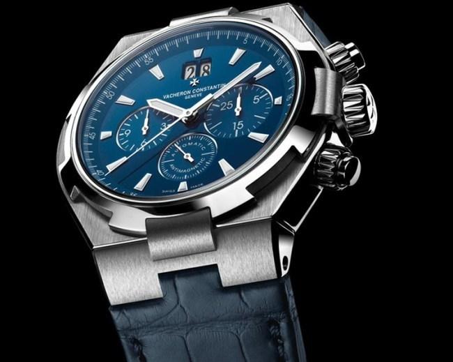 Vacheron Constantin Overseas : le chrono/grand date arrive sur bracelet caoutchouc