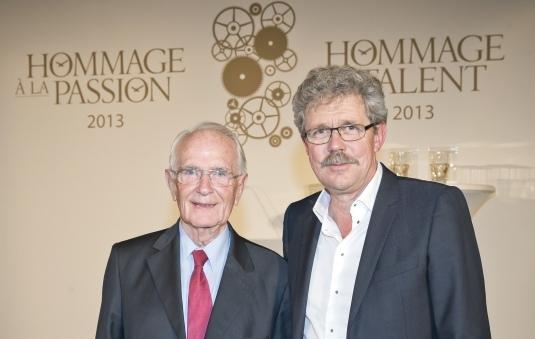 Walter Lange et Jean-Marc Wiederrecht