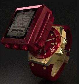 La Biformeter/Land Instrument de Linde Werdelin donne l'heure, le temps qu'il fait et votre rythme cardiaque