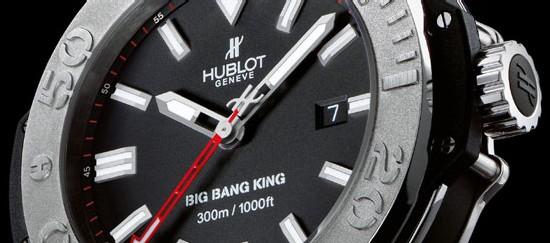 Avec la Big Bang King, Hublot innove en 48 mm