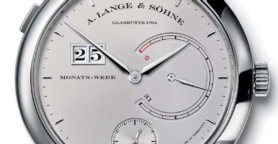 Lange 31 de Lange & Söhne : 31 jours de réserve de marche, tout simplement