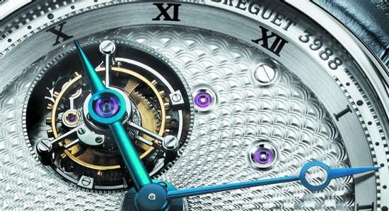 Classique Grande complication 5347 double tourbillon tournant de Breguet