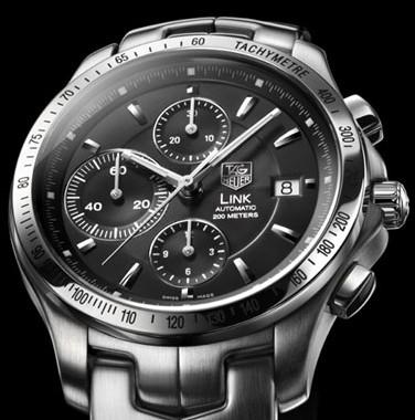 Link Calibre 16 chronographe automatique à tachymètre