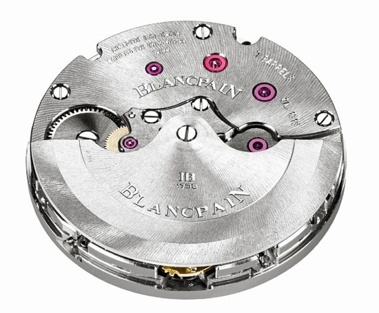 Fifty Fathoms Blancpain Automatique : un nouveau calibre Manufacture Blancpain