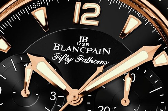 Fifty Fathoms Blancpain Chronographe Flyback