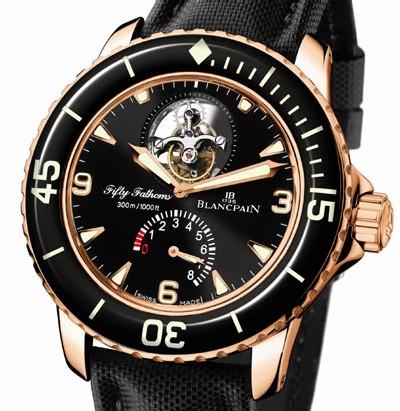 Fifty Fathoms Blancpain Tourbillon : une vraie montre de plongée avec tourbillon