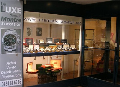 Boutique International Watch à Marseille