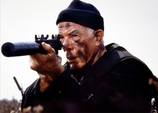 The Delta Force, Lee Marvin, DR