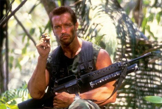 Predator, Arnold Schwarzenegger, DR