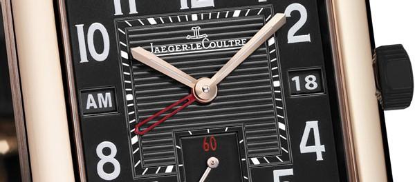 Reverso Squadra Hometime Black de Jaeger-Lecoutre