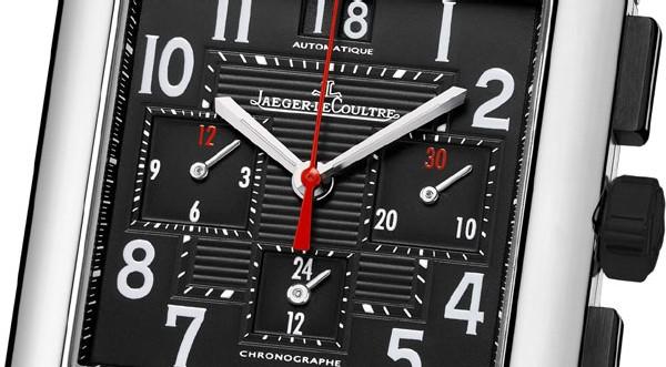 Reverso Squadra Chronograph GMT Black Jaeger-LeCoultre : la montre de sport capable de mesurer les temps de l'exploit